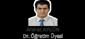 DR. AHMET AYGÜN
